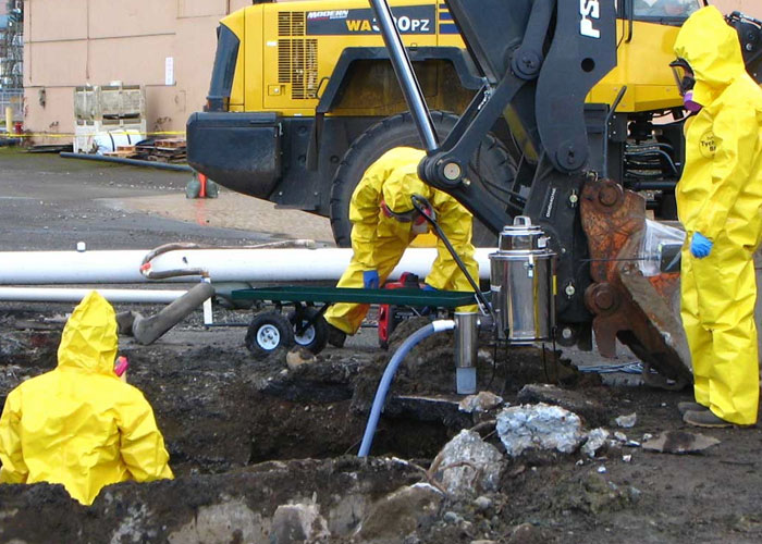 Environment Cleaning Services : Environmental remediation knepp inc